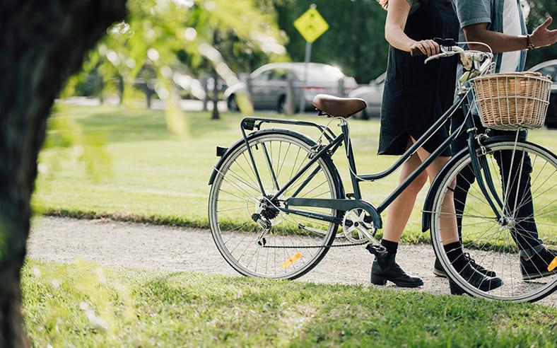 Cycling.