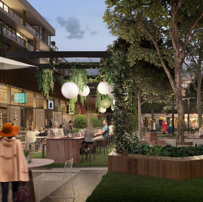 Green light for retail heart at Alphington mill project