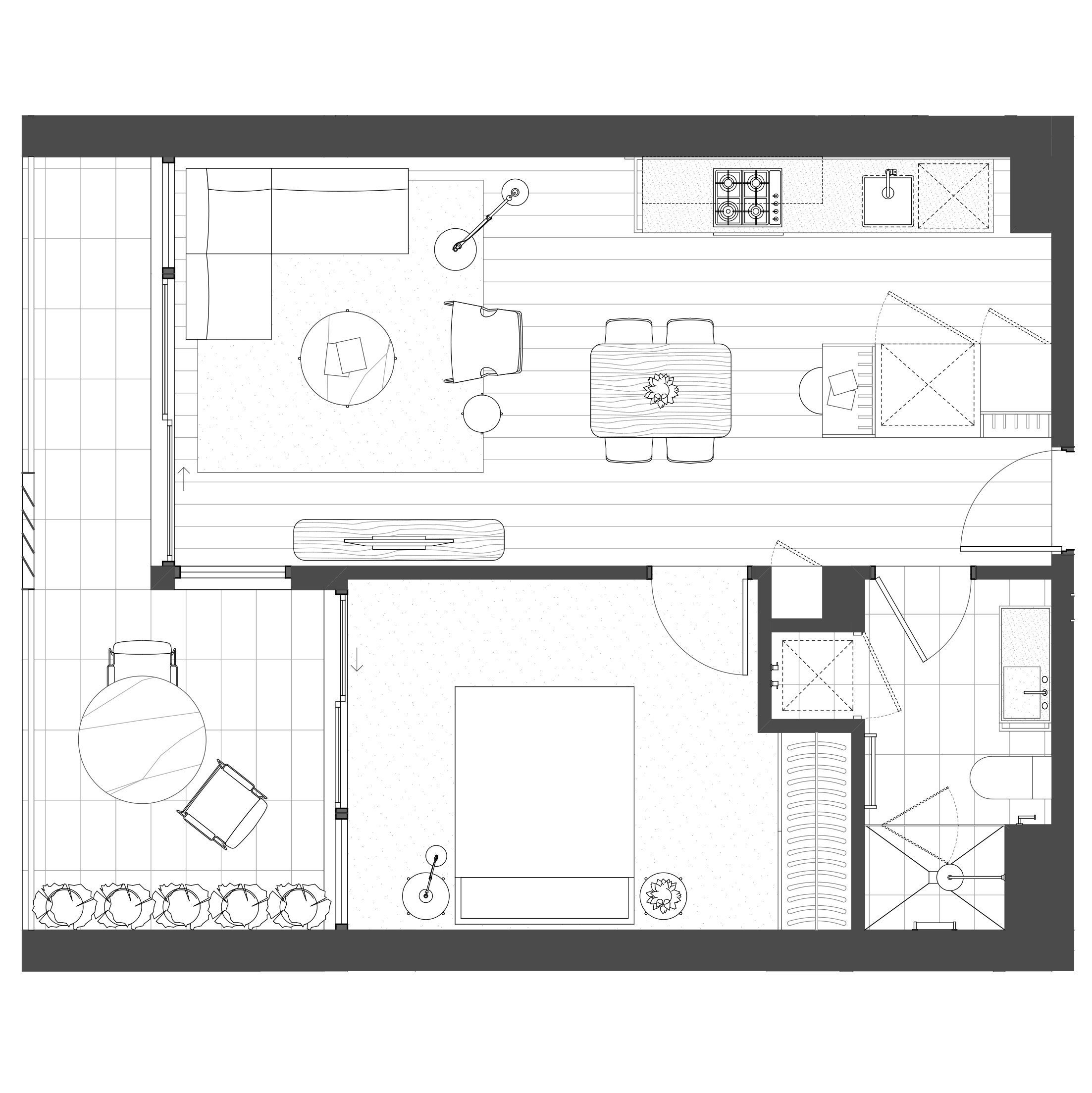 1 Bedroom, 1 Bathroom, 1 Carpark