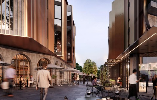 A new residential precinct in Melbourne's north to get food offering curated by Scott Pickett