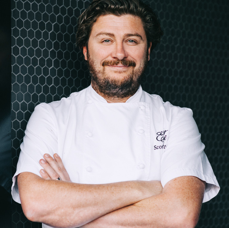 Celebrity chef Scott Pickett is the face of Melbourne's newest suburb, YarraBend