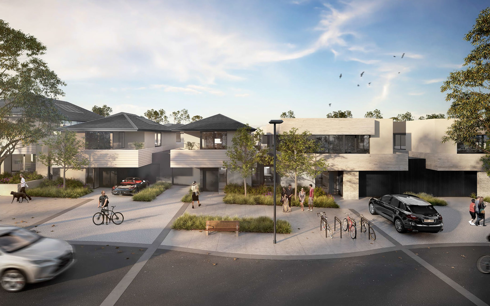 Streets | YarraBend: Off the Plan Townhouses, Apartments & Property Melbourne